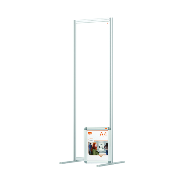 Nobo Acrylic Modular Room Divider 600 x 1800mm Clear