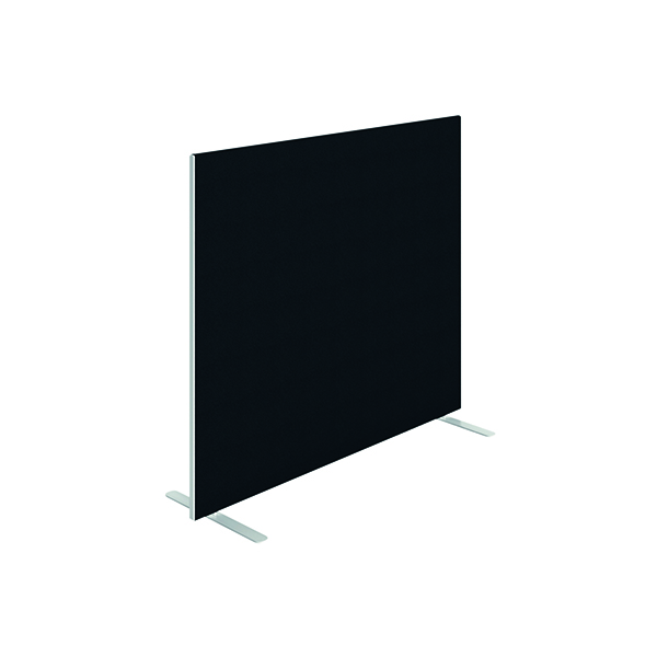 Jemini Floor Standing Screen 1400 x 1200mm Black