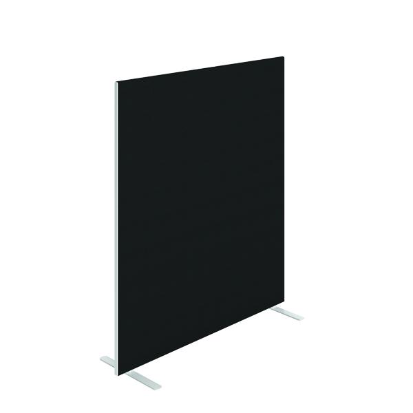 Jemini Floor Standing Screen 1400 x 1600mm Black