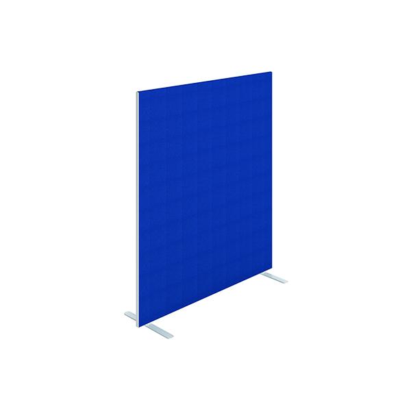 Jemini Floor Standing Screen 1400 x 1600mm Blue