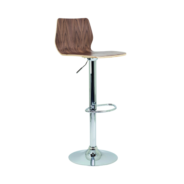 Jemini Stork High Stool Walnut