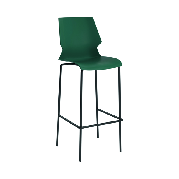 Jemini Uni High Stool Green/Grey