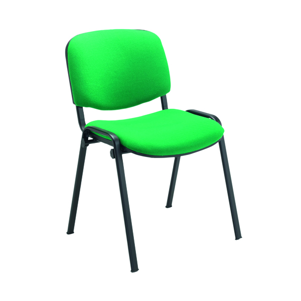 Jemini Ultra Multipurpose Stacking Chair 532x585x805mm Green