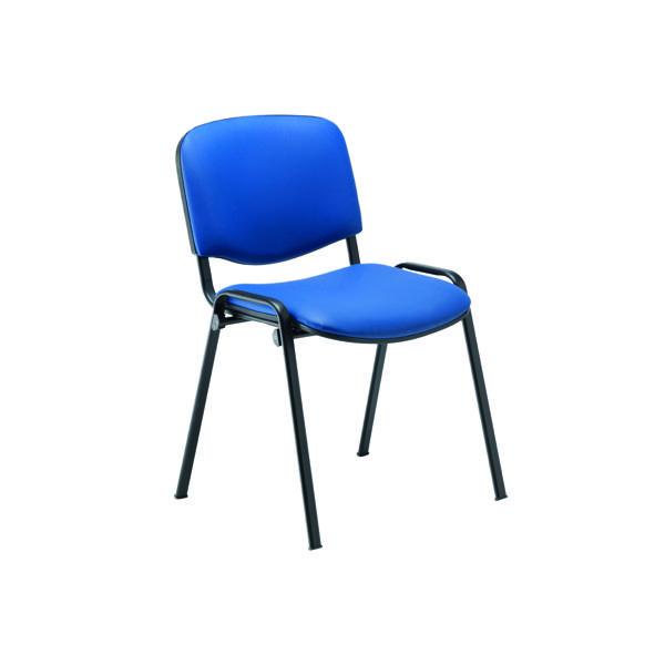 Jemini Ultra Multipurpose Stacker Chair Blue Polyurethane
