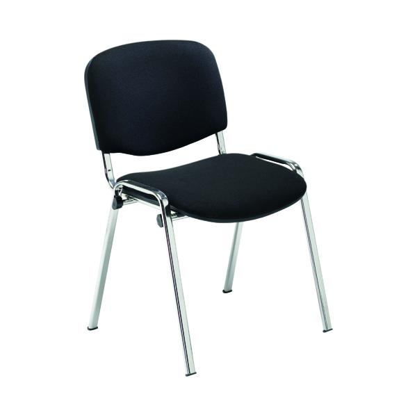 Jemini Multipurpose Stacker Chair Chrome/Black