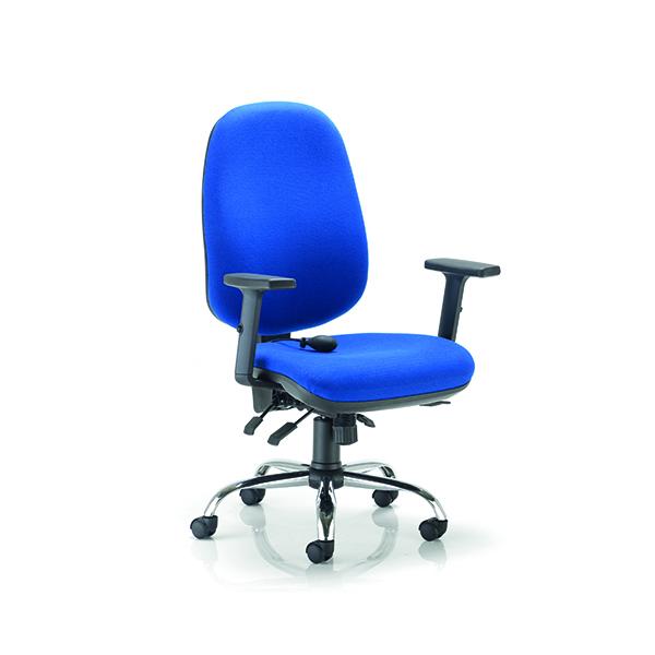 Arista Aire High Back Ergonomic Maxi Chair Blue