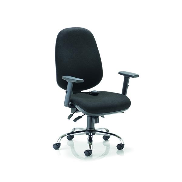 Arista Aire High Back Ergonomic Maxi Chair Black