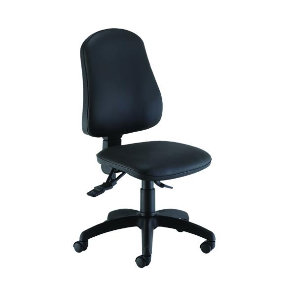 Jemini Intro Posture Chair Black Polyurethane
