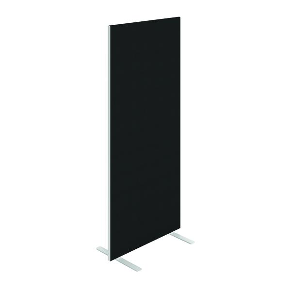 Jemini Floor Standing Screen 800x25x1800mm Black