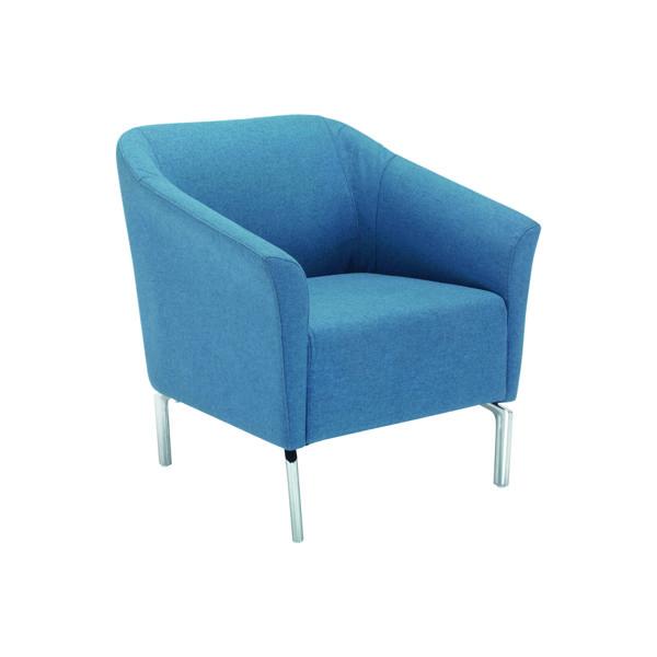 Avior Tux Armchair 775x730x800mm Blue