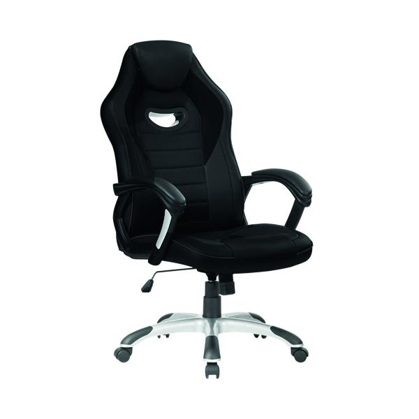 First Racer Gaming Chair Black/Black CH1990BKBK