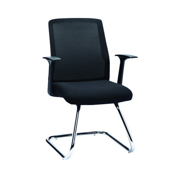 First Visitor Chair With Chrome Frame