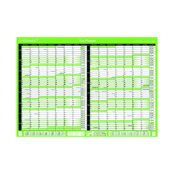 Q-Connect 16 Month Planner A2 2022-23