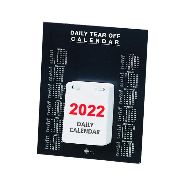 Daily Tear Off Desk Calendar 2022