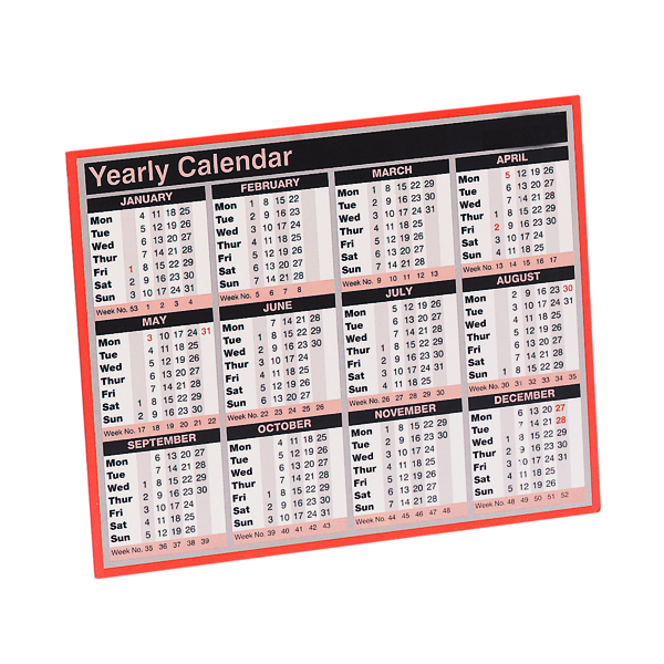 Year To View Calendar 2022