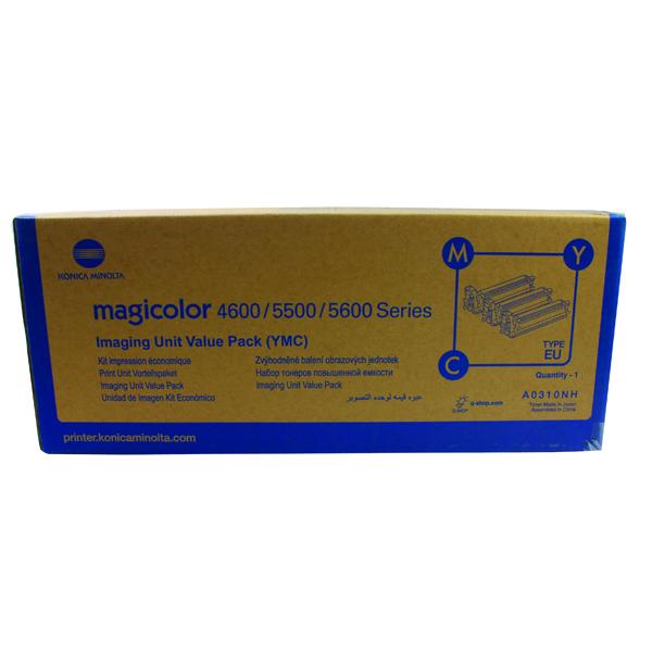 Konica Minolta Magicolor 4650/5550/5570 Print Unit Value Kit 30K CMY (Pack of 3) A0310NH