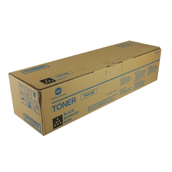 Konica Minolta Black Toner Cartridge TN314K