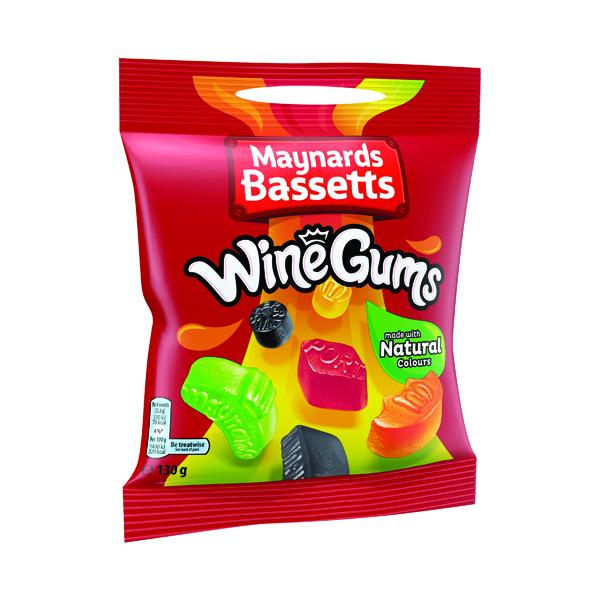 Maynards Bassets Wine Gums (Pack of 12) 647128