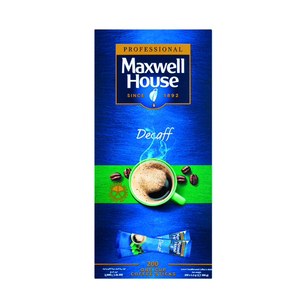 Maxwell House Instant Decaf Sticks (Pack of 1000) 4041162