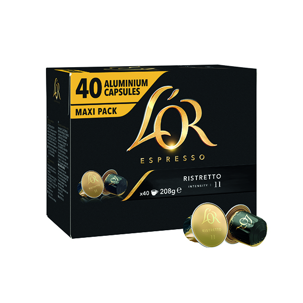 L'Or Nespresso Ristretto Capsule (Pack of 40) 4028790