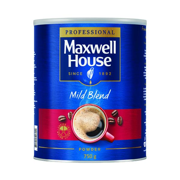 Maxwell House Coffee Powder 750g Tin 64997