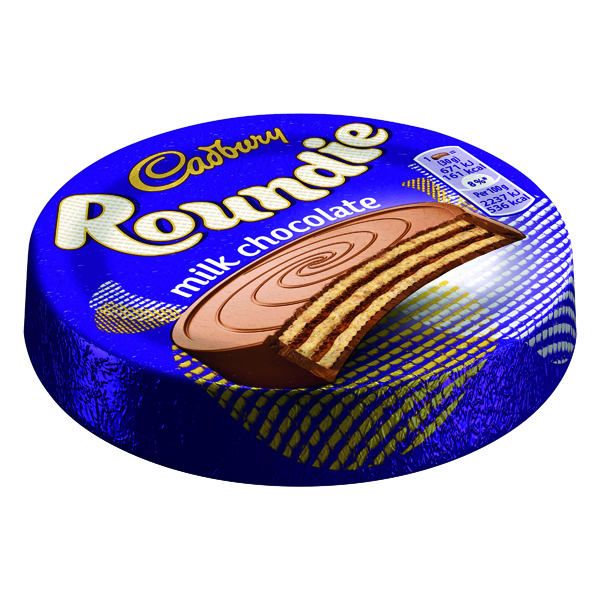 Cadbury Roundie Biscuit 30g (Pack of 30) 4043597