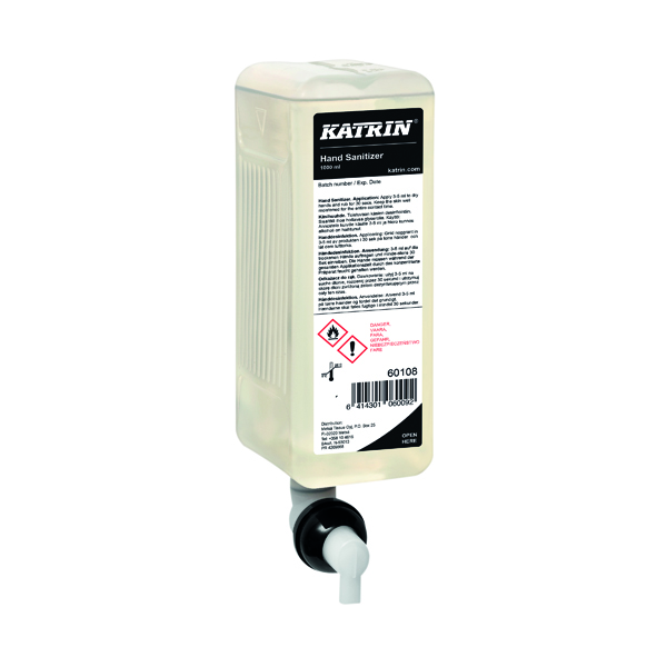 Katrin Hand Sanitiser 1000ml (Pack of 6) 60108