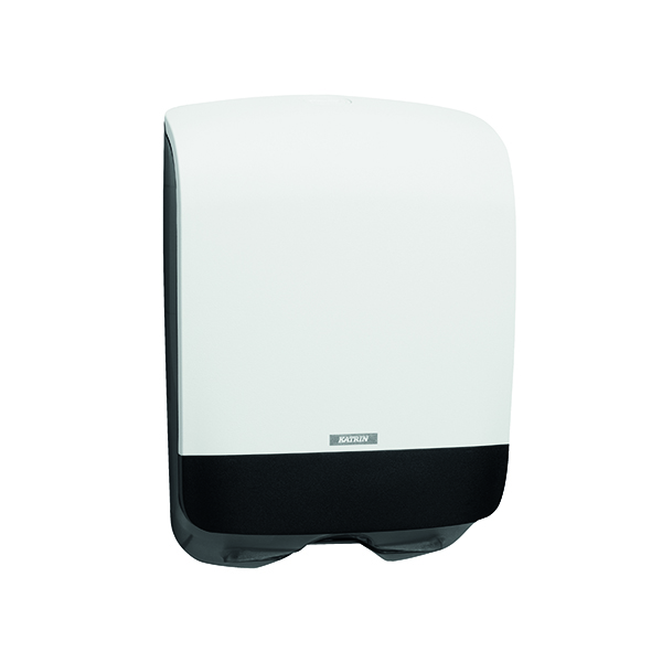 Katrin Inclusive Hand Towel Dispenser Mini White 90182