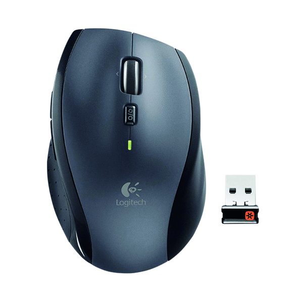 Logitech M705 Wireless Mouse Silver 910-001949