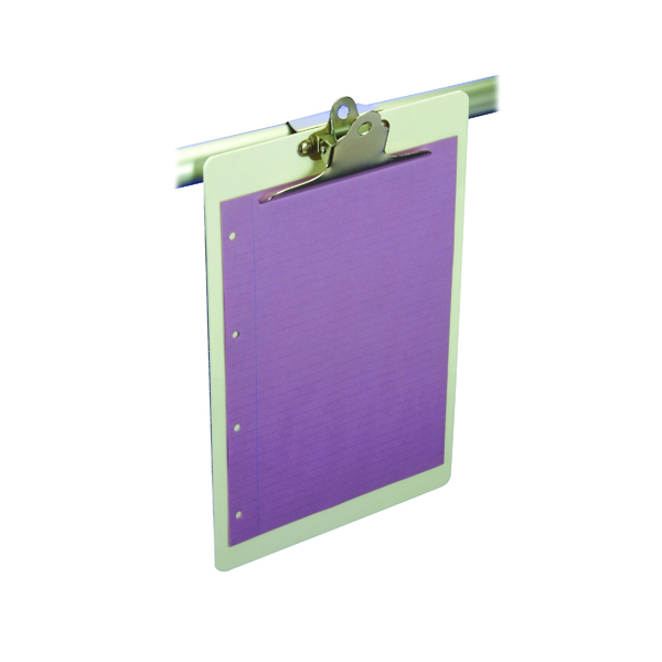 Image for Lloyd Acrylic Clipboard Foolscap White BF90H