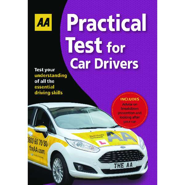 Image for AA Driving Test Practical Book 9780749567217 (1)