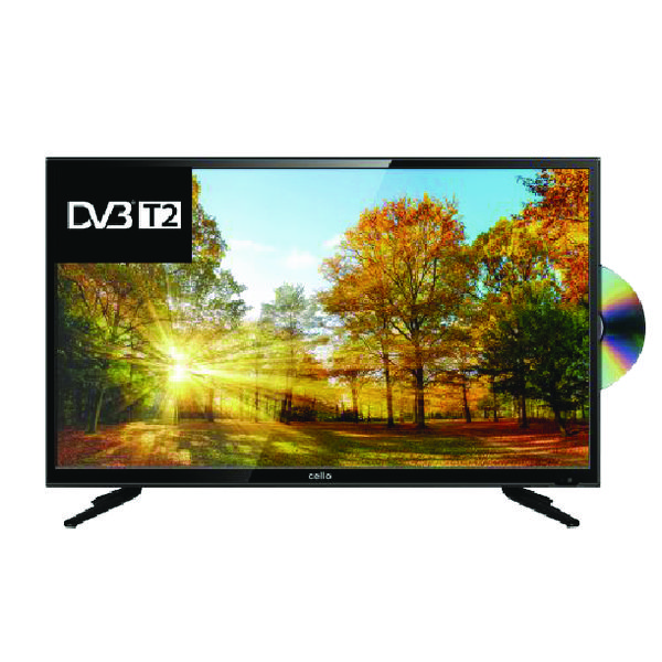 Image for Cello 40 Inch LED Full HD TV DVD Combi (1,920 x 1,080 Resolution with 3 HDMI inputs) C40227TF2