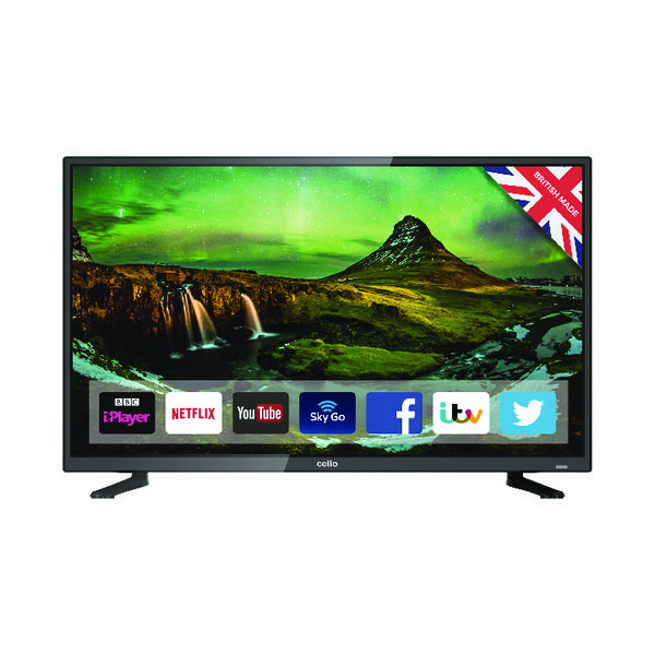 Image for Cello 32 Inch HD Ready Smart LED TV C32FS