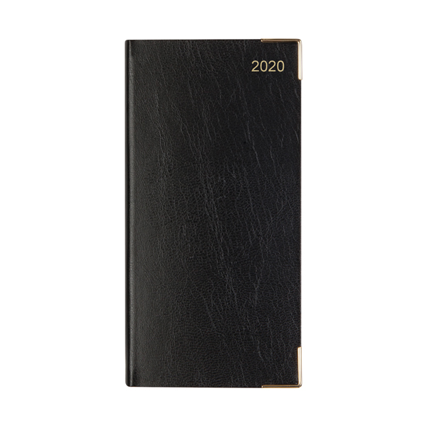 Letts Business Diary Slim Month to View 2020 Black 20-T15SBK
