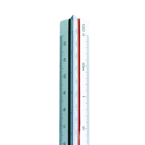 Linex Triangular Scale Rule 1:500-2500 30cm LXH 314