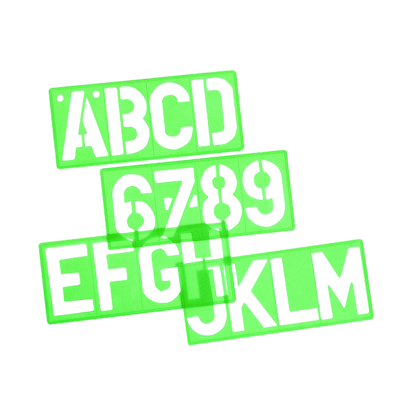 Linex-8550 Lettering Template 50mm 100411050