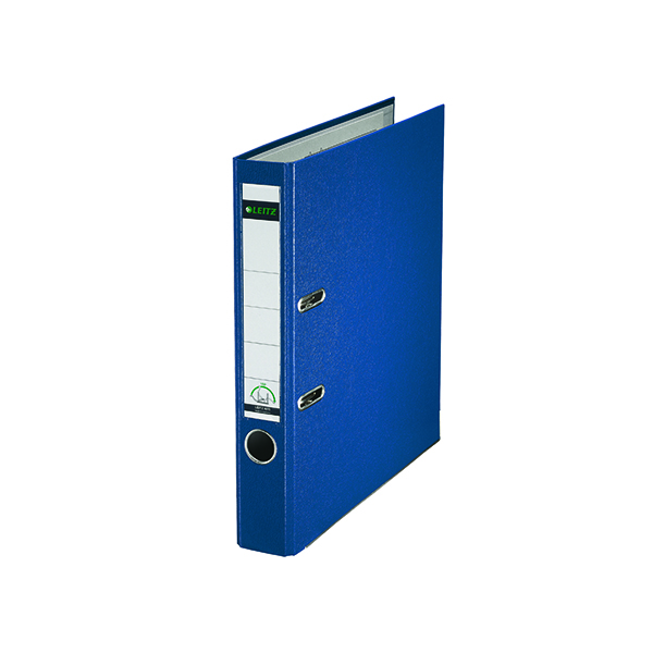 Leitz 180 Lever Arch File Poly 52mm A4 Blue (Pack of 10) 10151035