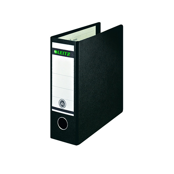 Leitz 180 Upright Lever Arch File Board A5 Black (Pack of 5) 310700095