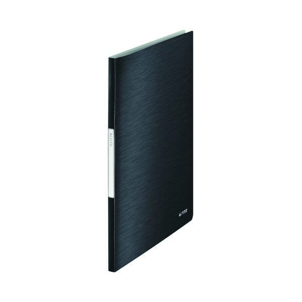 Leitz Style Display Book PP 20 Pockets A4 Black (Pack of 10) 39580094