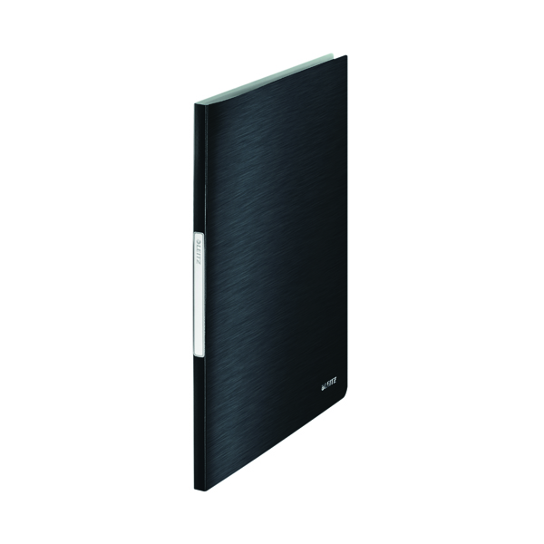 Leitz Style Display Book PP 40 Pockets A4 Black (Pack of 10) 39590094