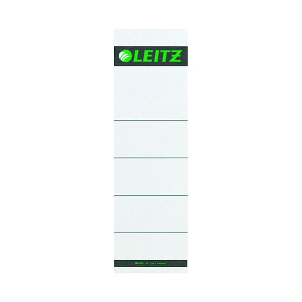 Leitz Self Adhesive Lever Arch Spine Labels (Pack of 10) 16420085