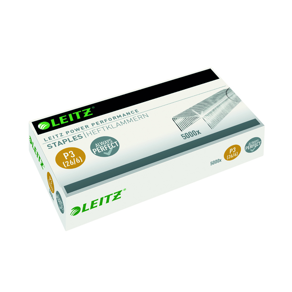 Leitz P3 26/6 Staples (Pack of 5000) 55721000