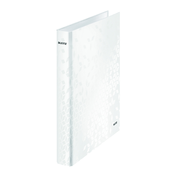Leitz WOW Ring Binder A4 25mm White (Pack of 10) 42410001