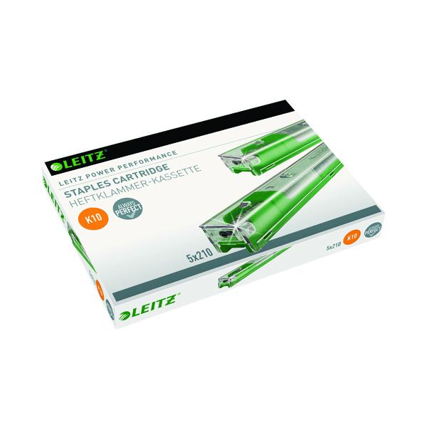 Leitz Green Heavy Duty Staple Cartridge (Pack of 5) 55930000