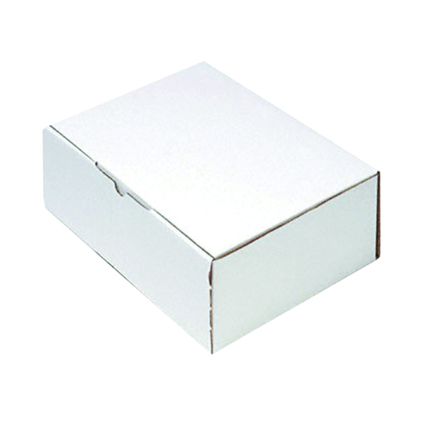 Mailing Box 220x110 White (Pack of 25) PPAK-KING069-C