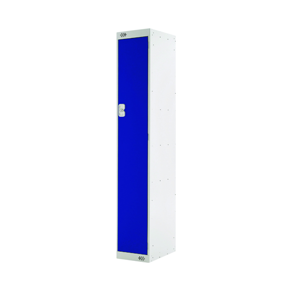 Single Compartment Locker D300mm Blue Door