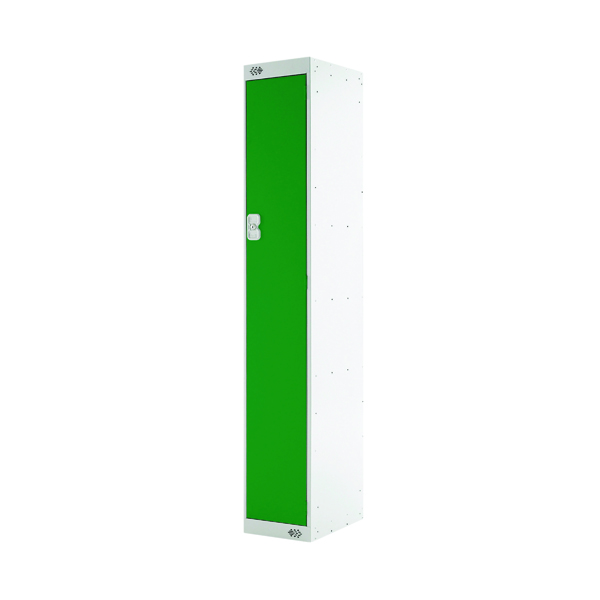 Single Compartment Locker D300mm Green Door