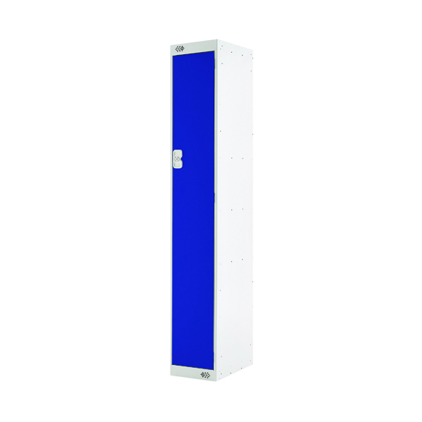 Single Compartment Locker D450mm Blue Door MC00037
