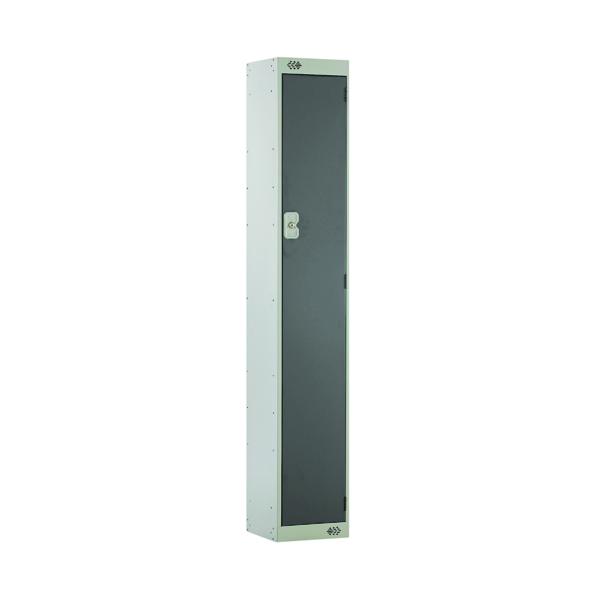 Single Compartment Locker D450mm Dark Grey Door