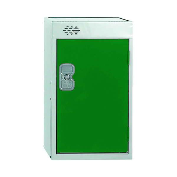 One Compartment Quarto Locker D300mm Green Door
